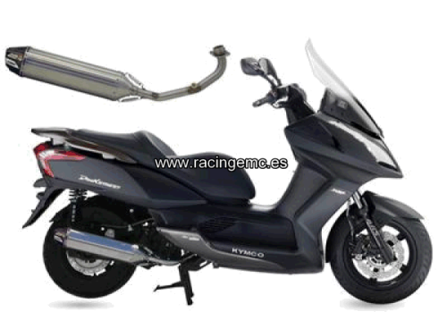 Escapes CRD Inox. Scooter Kymco