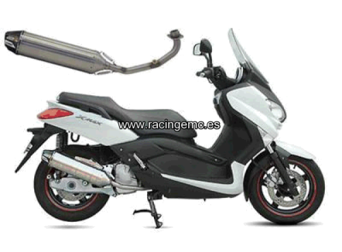 Escapes CRD Inox. Scooter MBK, YAMAHA