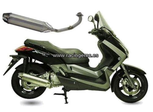 Escapes CRD Inox. Scooter YAMAHA