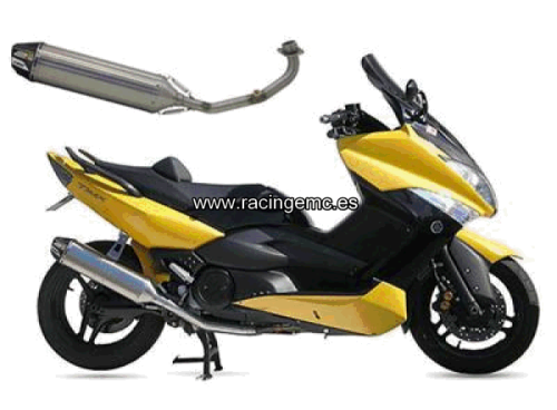 Escapes CRD Inox. Scooter YAMAHA 500