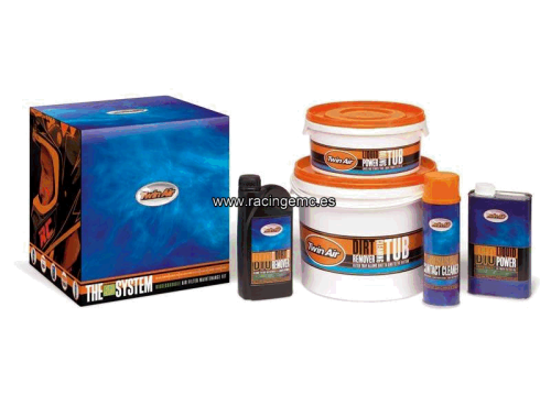Kit Mantenimiento y Limpieza Filtros Biodegradable Twin Air