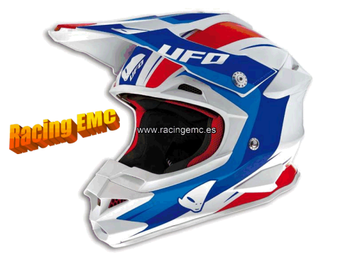 Casco Off-Road Ufo Interceptors Legend