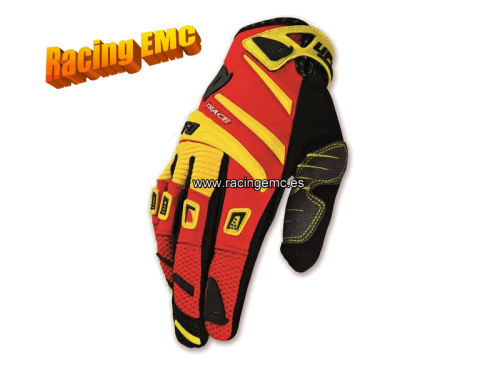 Guantes Ufo Trace Color Amarillo